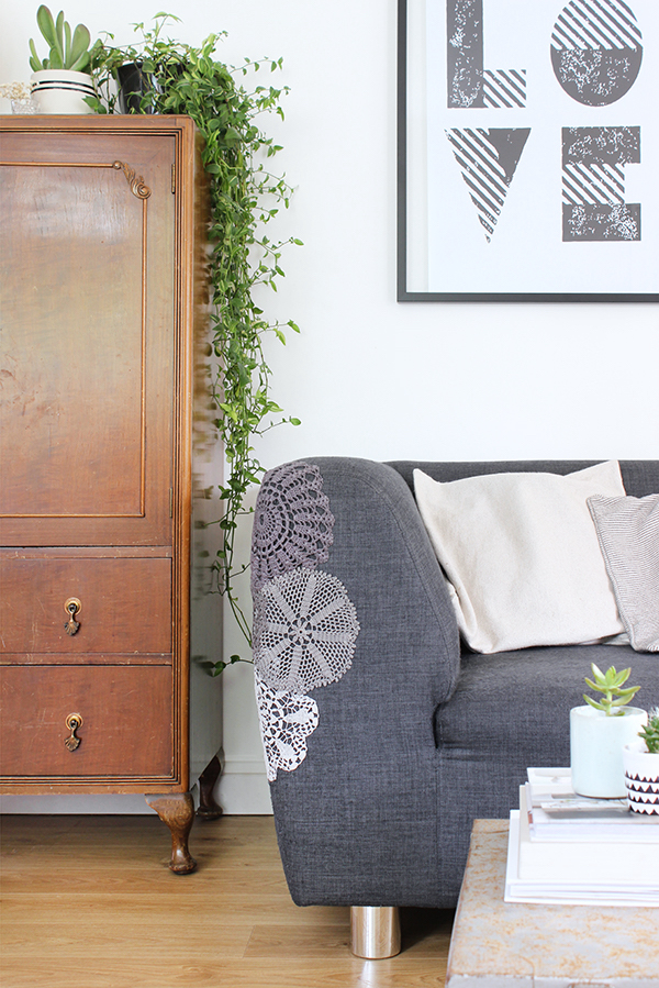 Cat scrached furniture hack | Growing Spaces