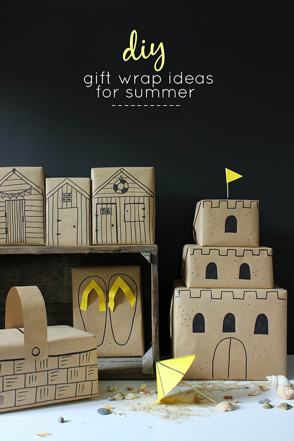 5 DIY gift wrap ideas for summer | Growing Spaces