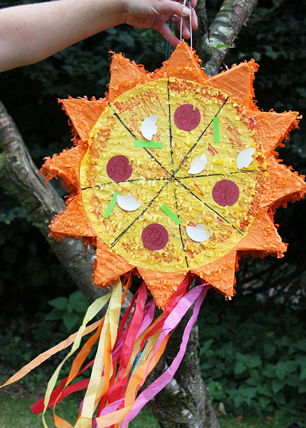Easy pizza pinata hack | Growing Spaces