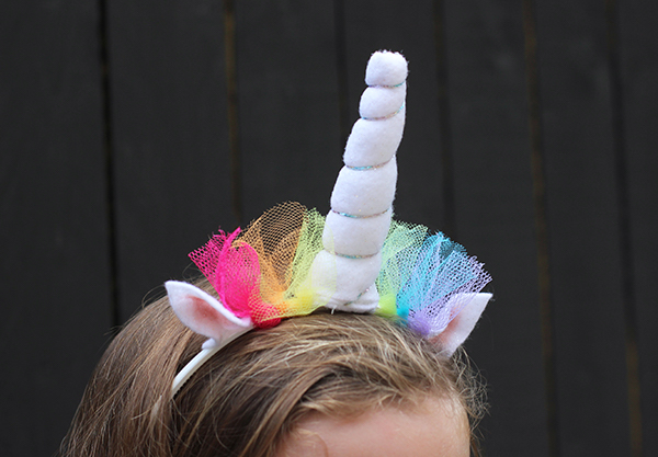 DIY unicorn headband | Growing Spaces