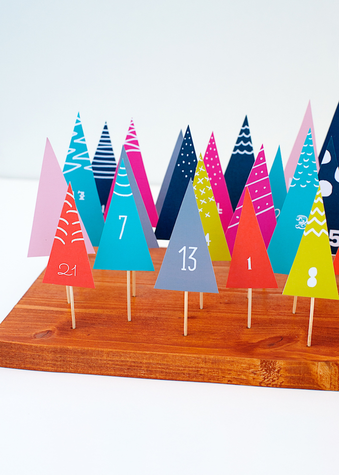 12 free printable advent calendars | Growing Spaces