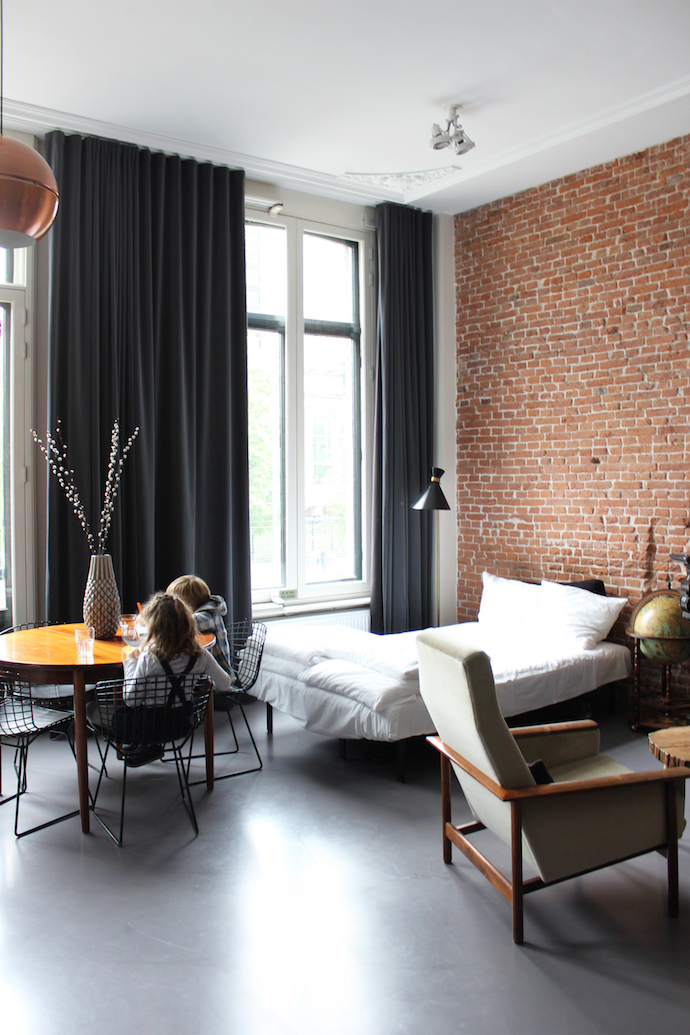 Stylish family-friendly city pad in Amsterdam