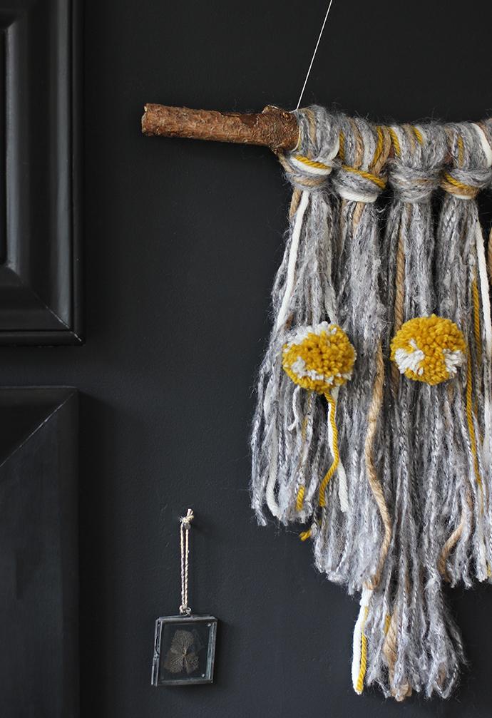 DIY textural wall hanging | Growing Spaces