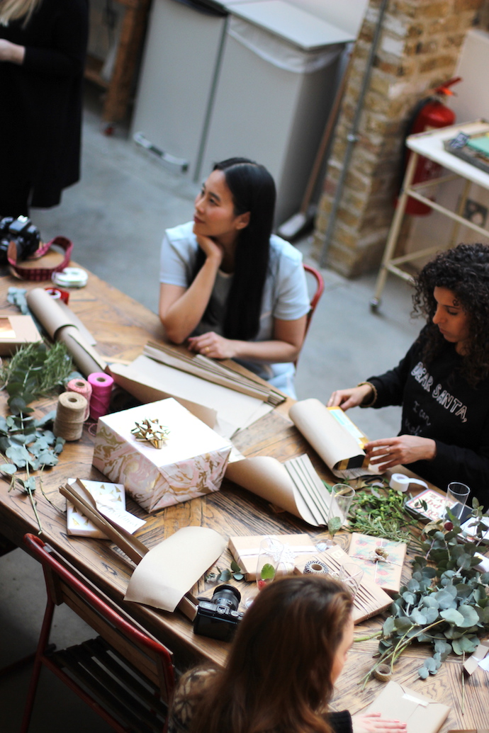 Make Wrap Mingle workshop | Growing Spaces