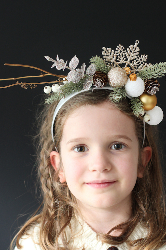 festive headband for B&Q | Growing Spaces
