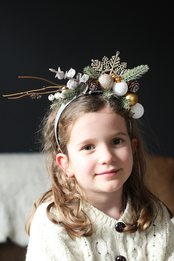 Christmas headband for B&Q | Growing Spaces