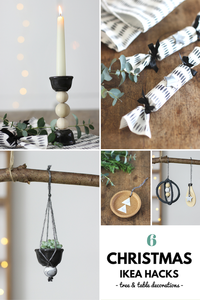 6 Christmas decoration Ikea hacks