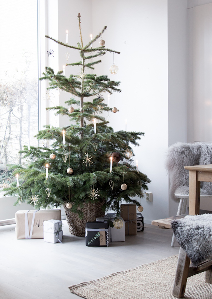 Less is more Christmas tree inspiration | Growing Spaces