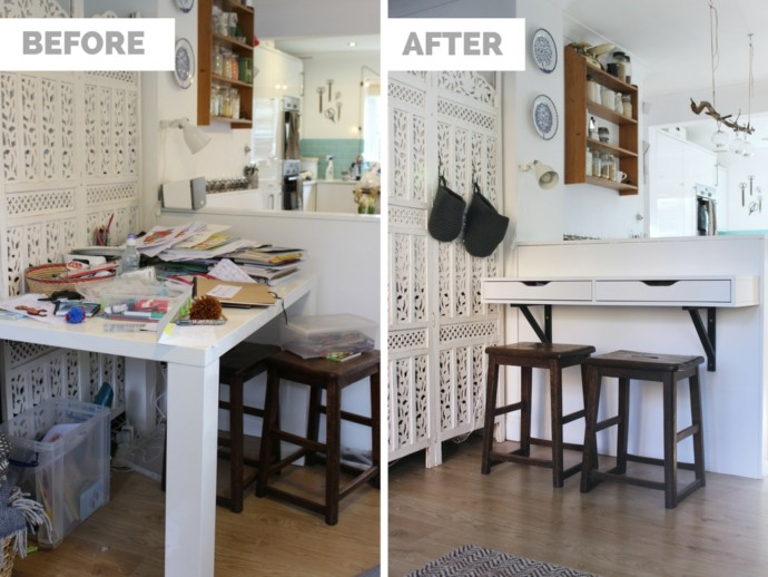 DIY Neat And Compact Homework Desk | Growing Spaces ...