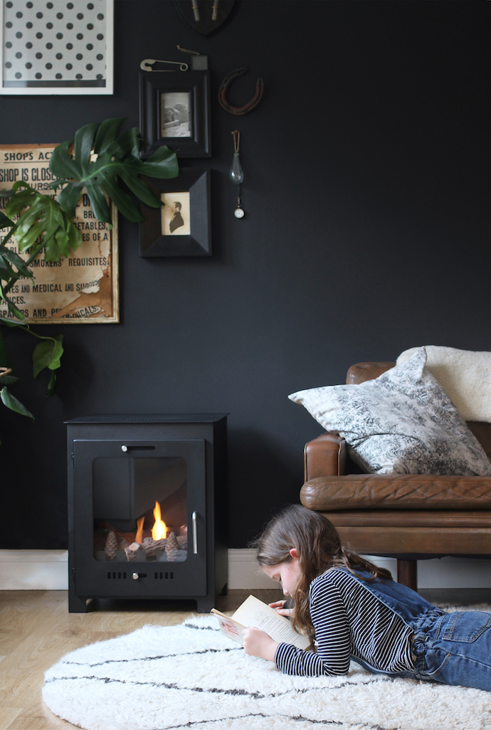 Faking it: cheat's wood burner