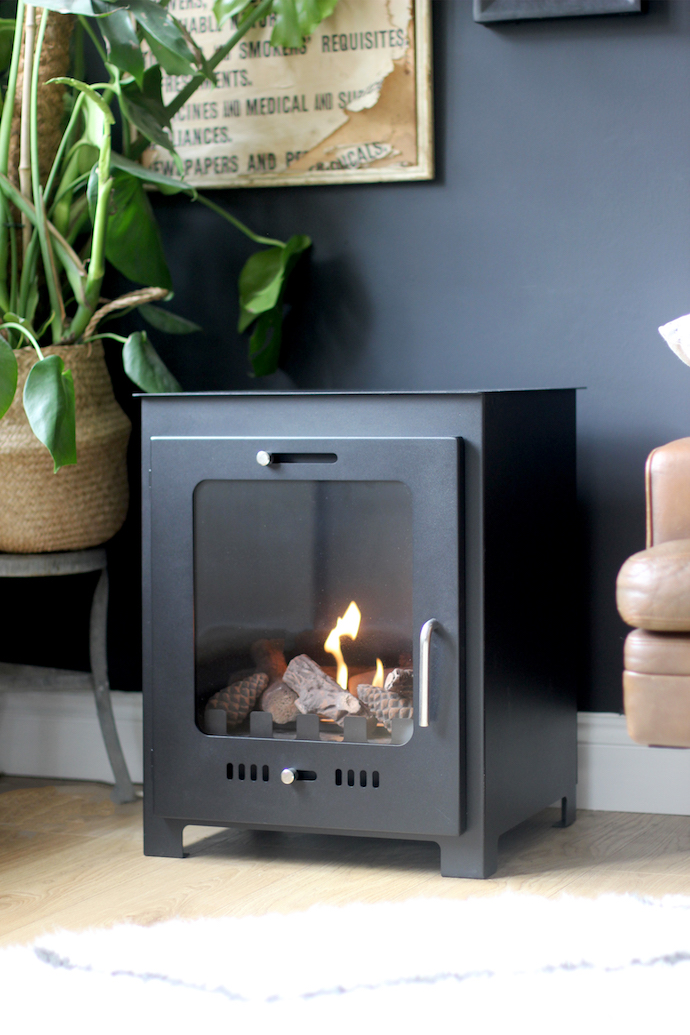 Faking It A Wood Burner Without A Flue Growing Spaces