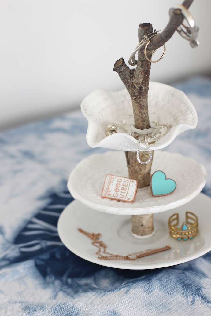 DIY jewellery stand with Sugru   Growing Spaces