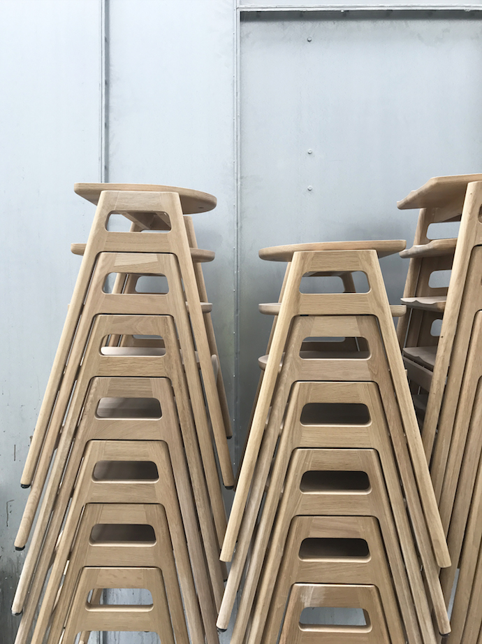 Ercol factory snapshots | Growing Spaces