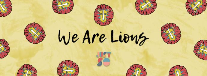Lion face paint | Just So Festival 2017
