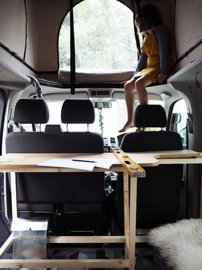 Van build update | Growing Spaces