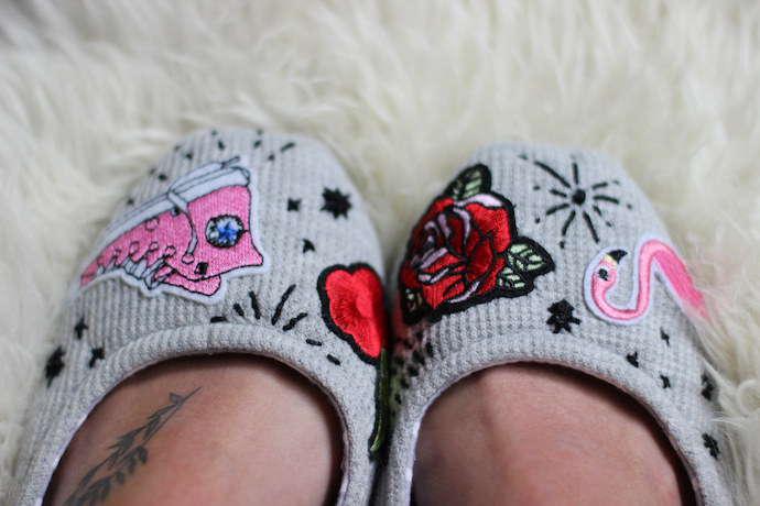 Easy DIY slippers | Growing Spaces
