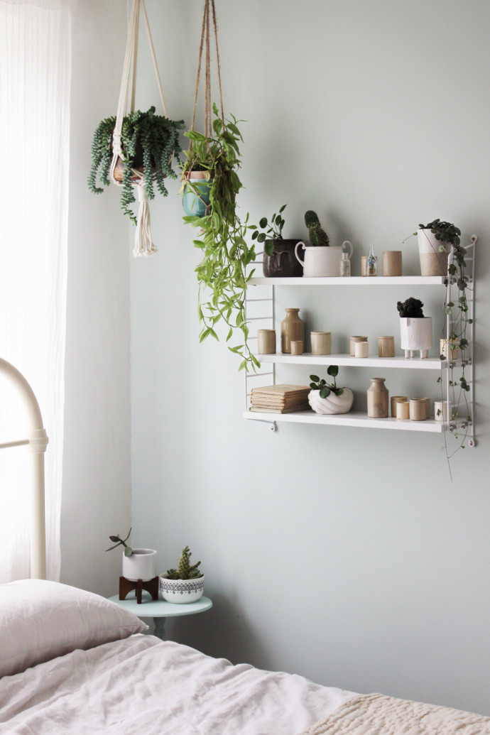 Soft green bedroom | Growing Spaces